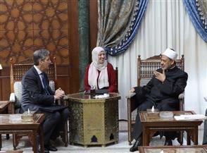 سفير بريطانيا في القاهرة: الأزهر شريك أساسي في مبادراتنا وجهودنا تجاه القضايا الإنسانية | صور