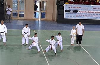 افتتاح فعاليات الأوليمبياد الرياضي للمحافظات الحدودية | صور