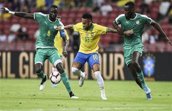 البرازيل تتعادل مع السنغال وديا في اللقاء الدولي رقم 100 لنيمار