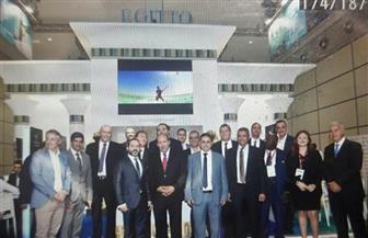 سفير مصر في إيطاليا يفتتح الجناح المصري بالمعرض السياحي الدولي