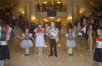 كورال أطفال تنمية المواهب يبدأ احتفالات الأوبرا بعيدها الـ31 |صور