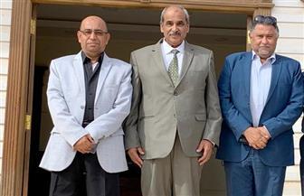 """وزير الإسكان الفلسطيني يزور العاصمة الإدارية الجديدة..ويؤكد: """"بدأتم من حيث انتهى الآخرون"""""""