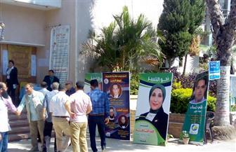 إقبال متوسط على انتخابات نقابة الأطباء في الفيوم| صور