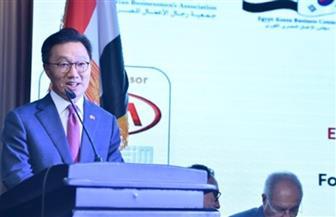 السفير الكوري: رؤية الرئيس السيسي للإصلاح الاقتصادي تحفزنا على الاستثمار في مصر