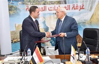 اتفاق تعاون بين محافظة الدقهلية ومركز معلومات مجلس الوزراء| صور