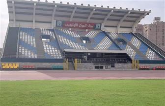 رئيس الاتحاد المصري للميني فوتبول  يتفقد المركز الأوليمبي بالمعادي|صور