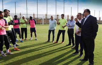محمد مصيلحي يعد لاعبي الاتحاد السكندري بتحقيق مطالبهم