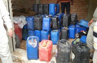 ضبط 2200 لتر من سولار داخل مخزن مواد بترولية بدون ترخيص بالقاهرة