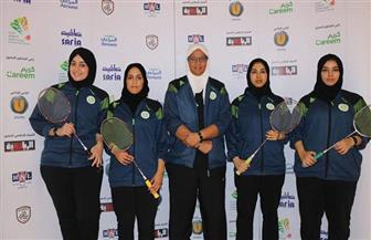 منتخب السعودية للريشة الطائرة للسيدات يستعد للمشاركة في بطولة مصر الدولية