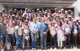 رئيس هيئة قناة السويس يلتقي الدفعة الثانية من البرنامج الرئاسي لتأهيل الشباب الإفريقي | صور