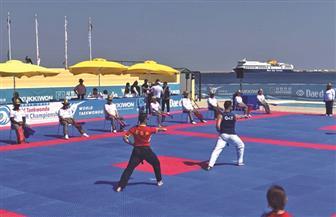 مصر تخوض ثلاثة نهائيات ببطولة العالم الشاطئية للتايكوندو بسهل حشيش