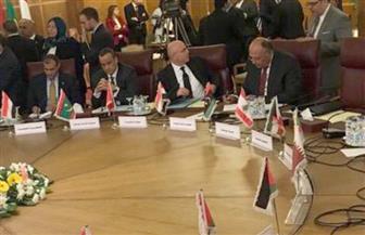 سامح شكرى يؤكد على أهمية التصدي لمحاولات النظام التركي إجراء تغييرات ديموغرافية قسرية في سوريا