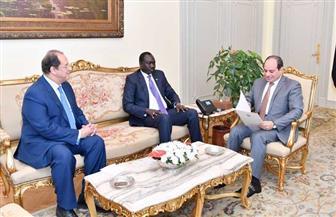 الرئيس السيسي يستقبل المبعوث الشخصي لرئيس جنوب السودان |فيديو