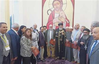 البابا تواضروس يلتقي أعضاء الجالية المصرية بفرنسا
