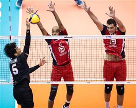 منتخب الطائرة يخسر من تونس في بطولة العالم ويستعد لمواجهة الأرجنتين غدا