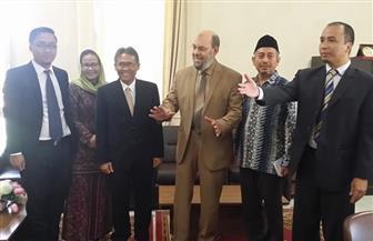 وفدا إندونيسي يزور الأزهر لبحث آفاق التعاون المشترك | صور