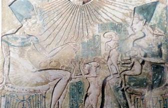جدارية لزوجة توت عنخ آمون.. هل ينصف التاريخ العاشقة البريئة؟ |صور