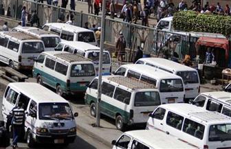 """بدء تحويل سيارات الأجرة والميكروباص العاملة بـ""""السولار"""" إلى الغاز بالمحلة"""