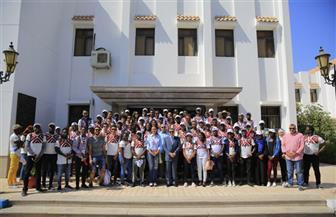 الدفعة الثانية من البرنامج الرئاسي لتأهيل الشباب الإفريقي للقيادة تزور هيئة قناة السويس | صور
