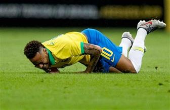 نيمار يخرج مصابا من مباراة بلاده أمام نيجيريا