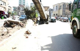 محافظ الشرقية: بدء تنفيذ المرحلة الأولى لتطوير شارع عمر شاهين بالزقازيق بتكلفة 9 ملايين جنيه | صور