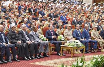 الرئيس السيسي: ما تم إنجازه في مصر لم يتحقق على مدار 20 عاما.. وأنا حقي عندي ربنا