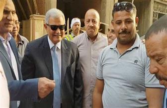 رسلان يفتتح مركز خدمة عملاء الصرف الصحي بالقاهرة