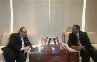 السفير المصري بالخرطوم يلتقي وزير الطاقة والتعدين السوداني