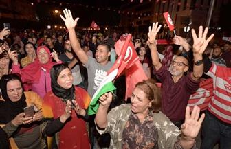 تونس تحتفل بفوز قيس سعيد بالانتخابات الرئاسية | صور