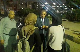 زيارة مفاجئة لرئيس جامعة الأزهر للمدن الجامعية ليلا| صور