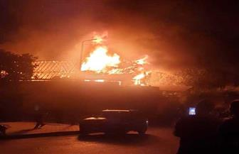 مدير أمن القاهرة يشكل فريق بحث لكشف تفاصيل حريق مارجرجس
