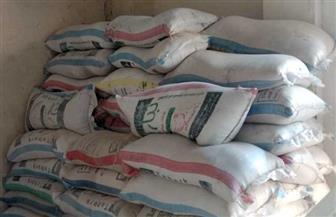 ضبط 958 طن سلع غذائية ودقيق ومنظفات مجهولة في حملات تموينية
