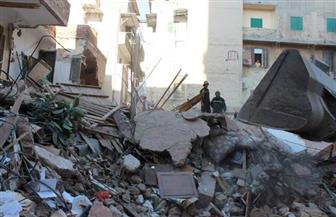 انهيار جزئي لـ9 عقارات غرب الإسكندرية جراء الطقس السيئ
