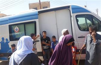 الكشف على 1420 مواطنا وتوفير العلاج لهم في قافلة طبية بمركز إهناسيا| صور