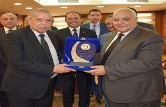المنشاوي يستقبل رئيس الهيئة الوطنية للانتخابات | صور
