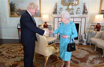 """الملكة إليزابيث الثانية تعرض خطة جونسون لجعل بريطانيا """" بطلة"""" التجارة الحرة"""