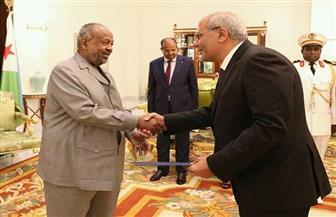رئيس جيبوتي يؤكد وقوفه إلى جانب مصر ودعمه لجهود تعزيز العلاقات الثنائية | صور