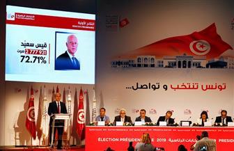 رسميا.. قيس سعيد يفوز بـ 72.71% من الأصوات في الانتخابات الرئاسية التونسية