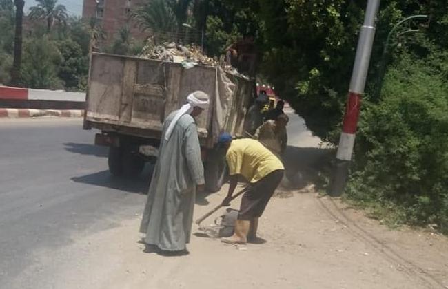حملات النظافة والإشغالات بأبوتيج