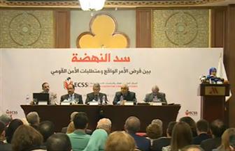 خالد عكاشة: قضية سد النهضة أمن قومي.. وهناك أطراف تسعى لفرض أمر واقع | صور