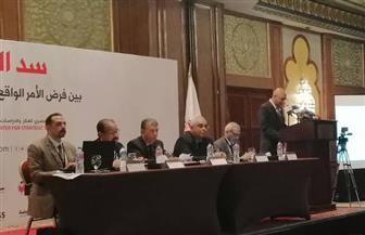الزيات: سد النهضة قضية الشعب المصري بأكمله.. والمياه من الثوابت التي لا يمكن التنازل عنها | صور