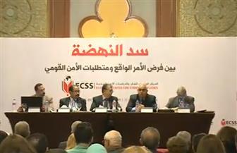 سالمان طايع: إثيوبيا تمارس الضغط والابتزاز السياسي على مصر.. ولا تعترف بشرط الإخطار المسبق | صور