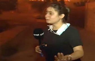 شاهد بكاء مراسلة لبنانية عند سماعها لصراخ المواطنين المحاصرين بنيران الحرائق