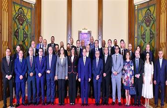 تفاصيل لقاء الرئيس السيسي مع وفد المستثمرين المصريين بالخارج| صور وفيديو