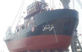 """تدشين القاطرة البحرية الثانية """"علي شلبي"""" في بورسعيد بتكلفة 200 مليون جنيه"""