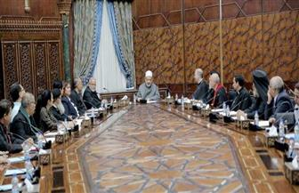 شيخ الأزهر يستقبل أعضاء اللجنة التنفيذية لمجلس كنائس مصر