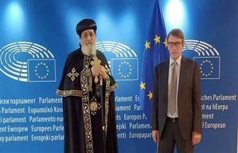 البابا تواضروس يزور البرلمان الأوروبي ببروكسيل   صور