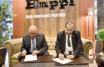 الجامعة المصرية اليابانية توقع بروتوكول تعاون مع إنبى للبترول