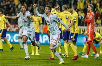 رودريجو ينقذ إسبانيا من الخسارة في الوقت القاتل ويقودها إلى نهائيات يورو 2020