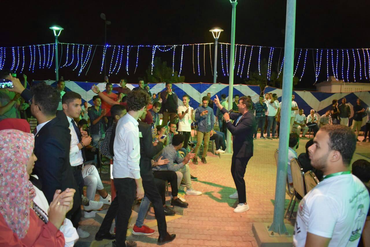 جامعة سوهاج تنظم احتفالية بمناسبة انتصارات أكتوبر